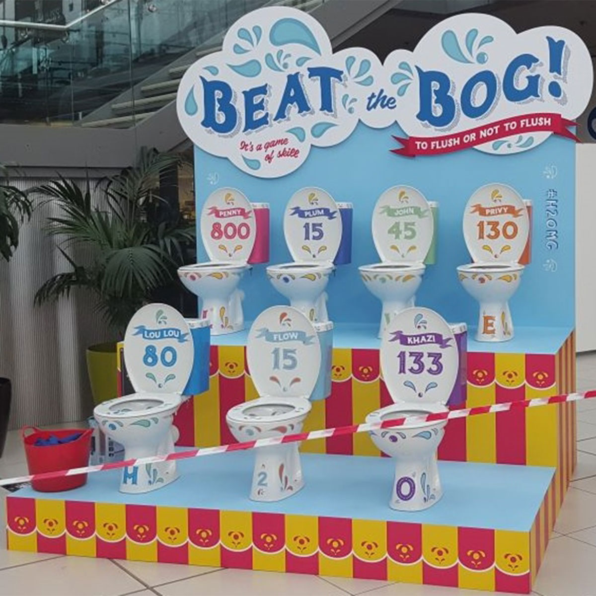 Beat The Bog Custom Display Stand