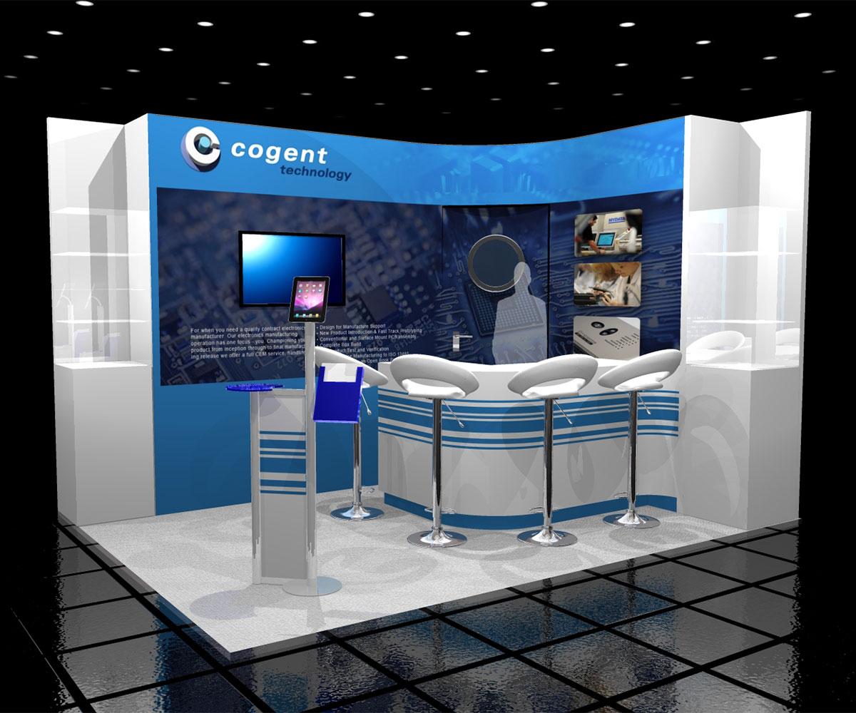Cogent Technology Stand Concept
