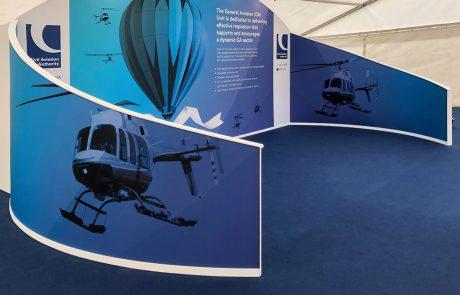 Civil Aviation Authority Custom Exhibition Stand Design & Build