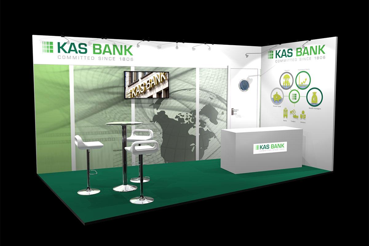 KAS Bank Stand Design Concept