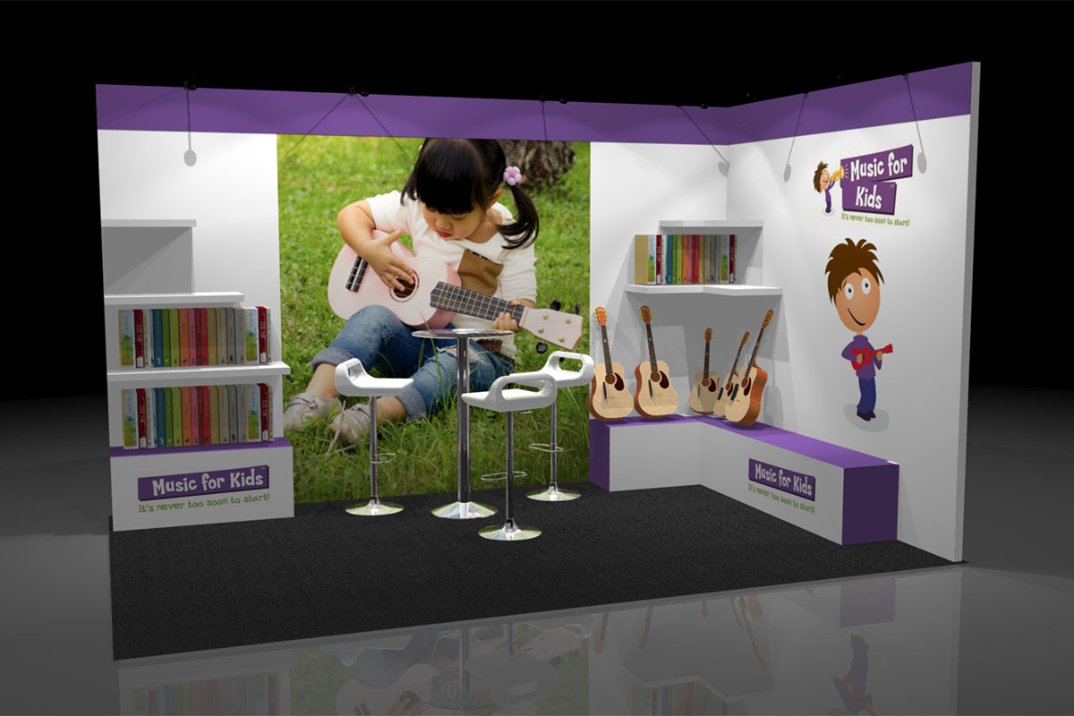 Music For Kids Additional Stand