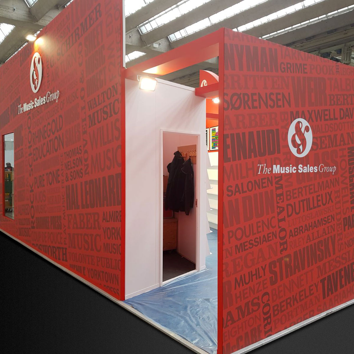 The Music Sales Group Stand Build
