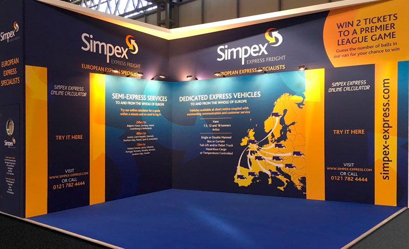 Simpex Express Freight Stand Design