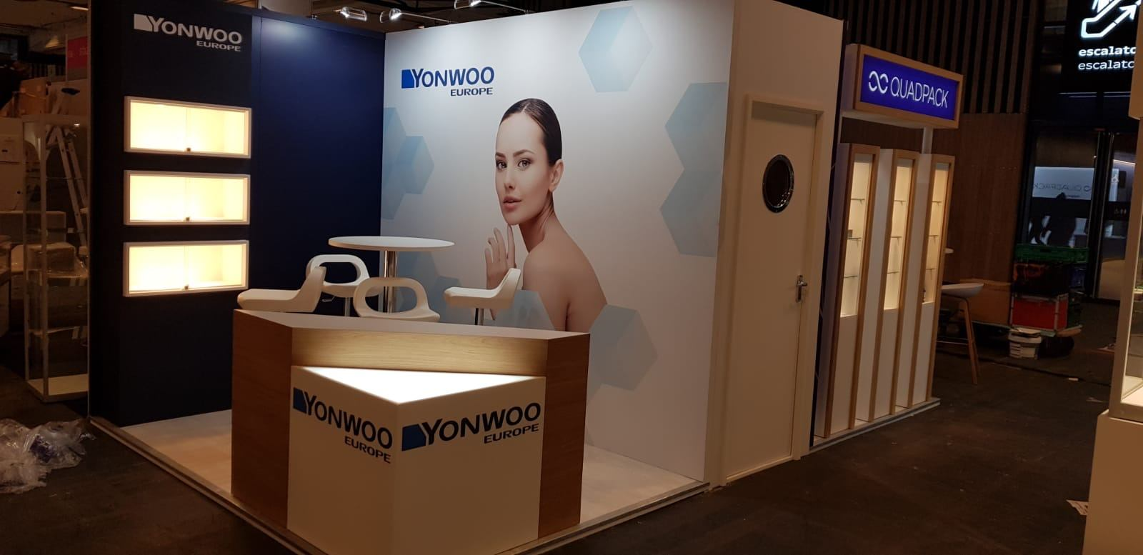 Interactive Exhibition Stand for Yonwoo – PEM Exhibition Services