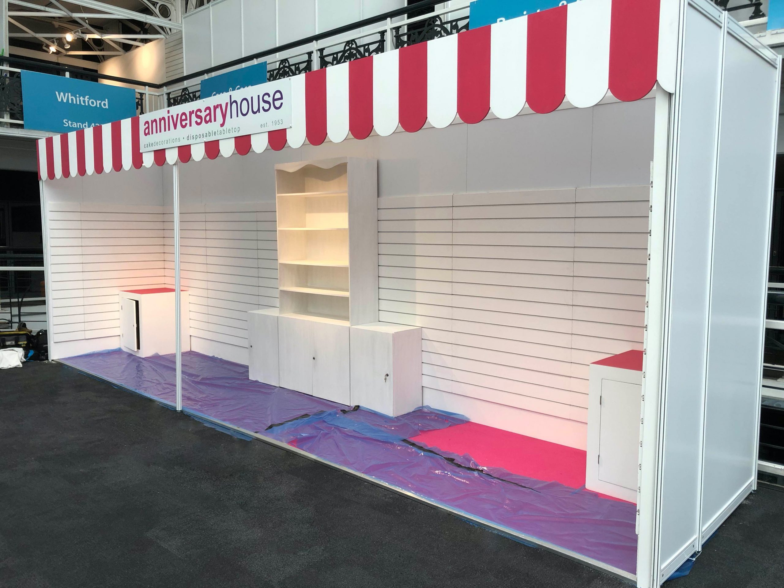 Exhibition Stand Design for Anniversary House – PEM Exhibition Services