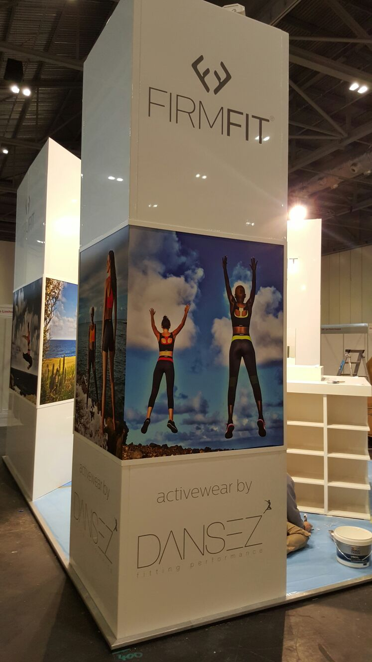 Exhibition Stand Design for Fitness Brand Trade Show – PEM Exhibition Services
