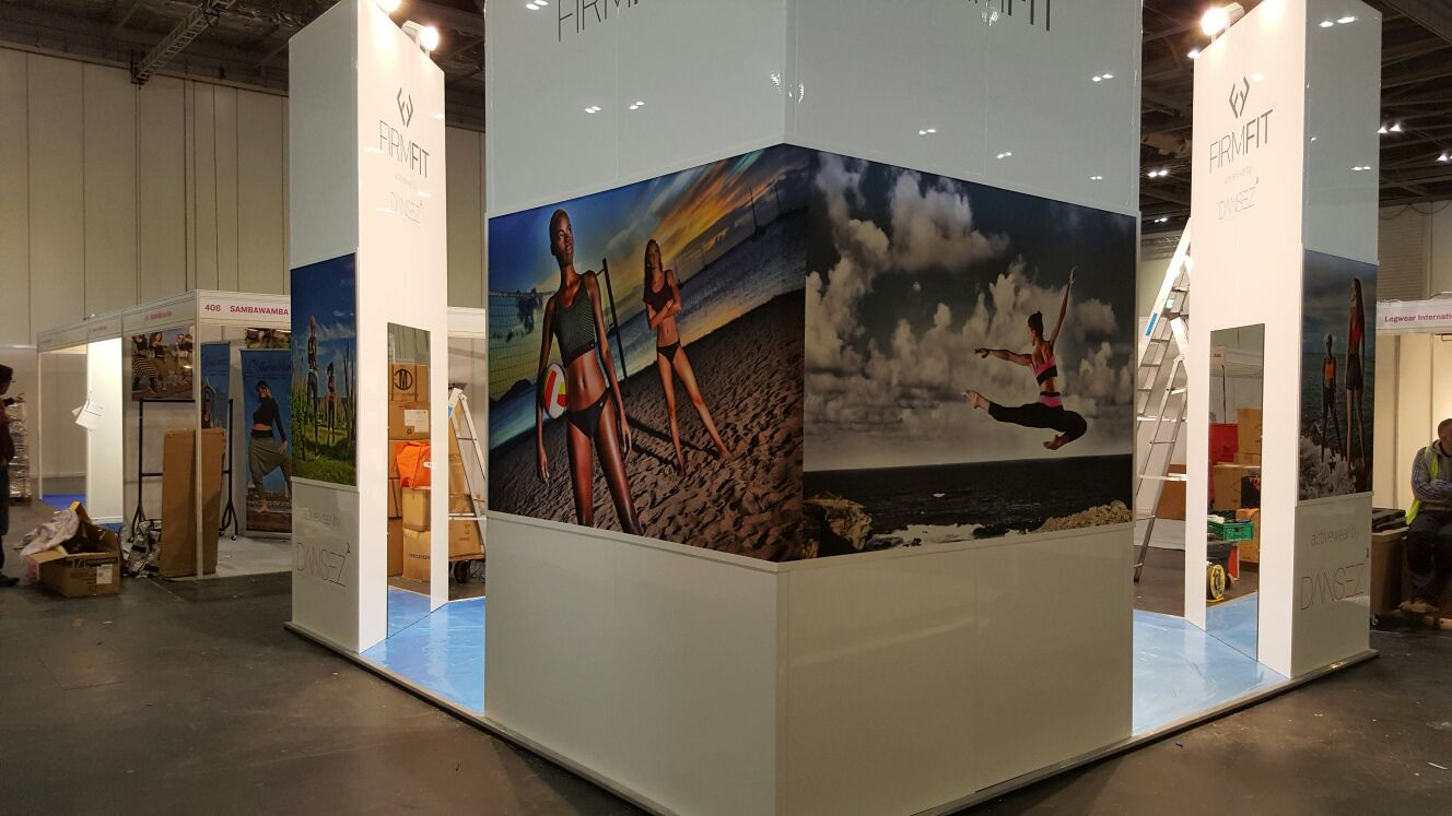Exhibition Stand Construction for Fitness Brand – PEM Exhibition Services