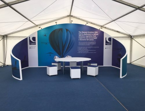 Civil Aviation Authority at the Aeroexpo – Case Study