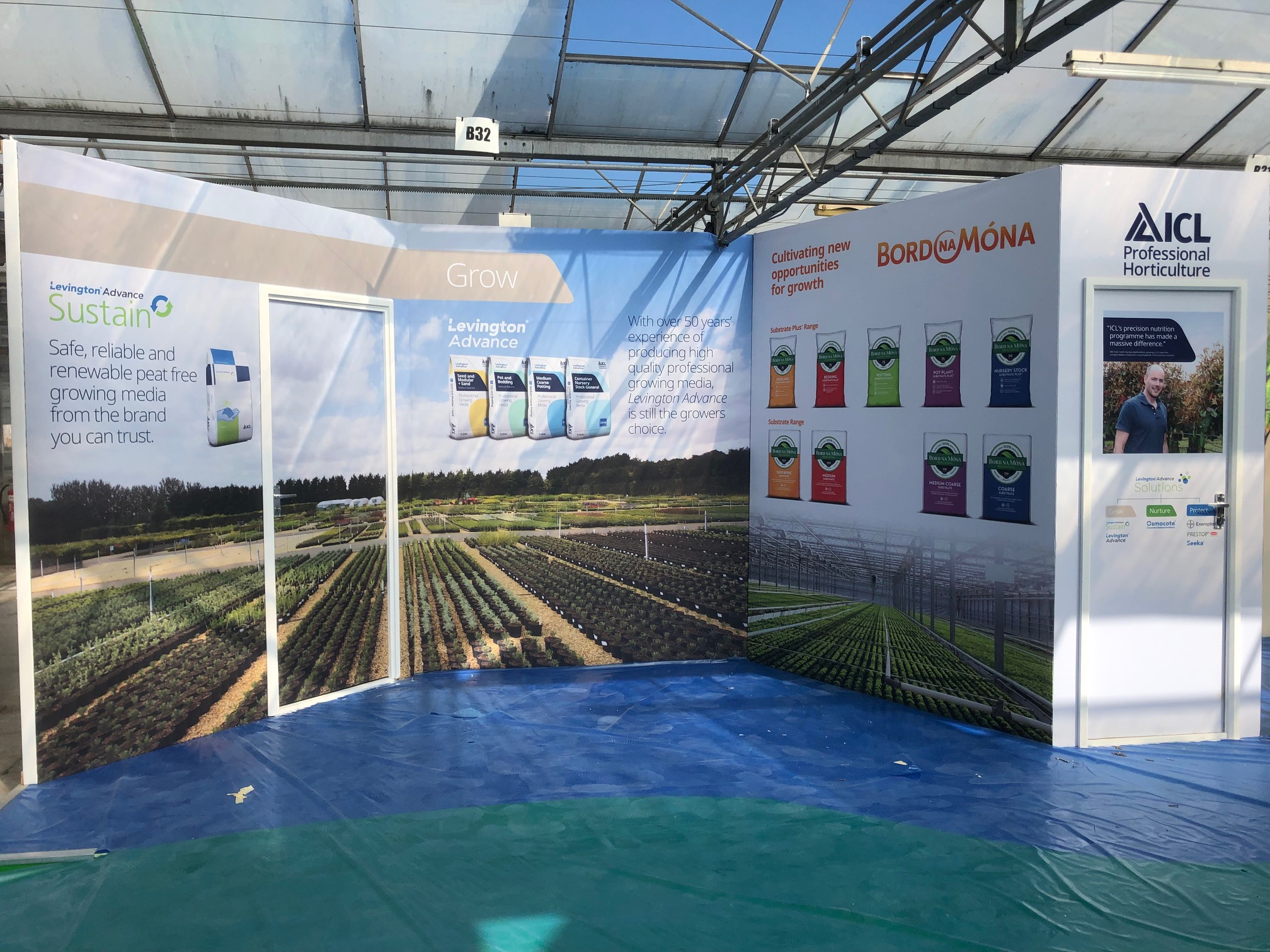 ICL Specialty Fertilizers at the Four Oaks Exhibition – Case Study