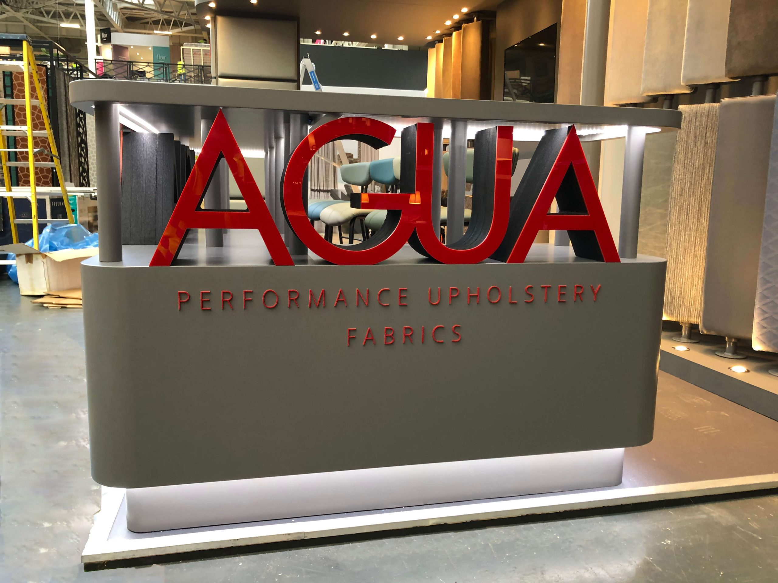 Agua at the Sleep & Eat Show– Exhibition Stand Design Case Study